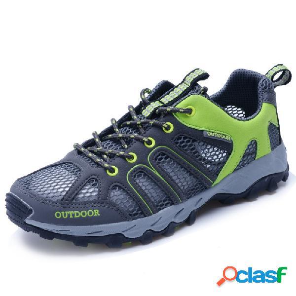 Chaussures de randonnée résistantes respirantes pour hommes