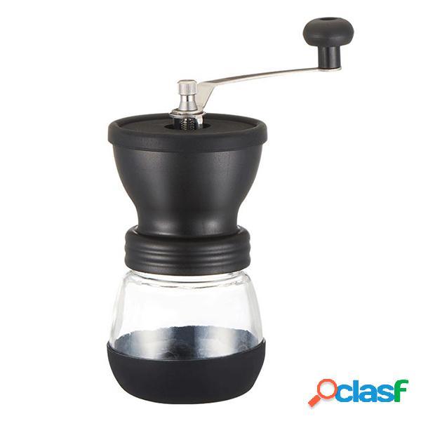 Moulin à café manuel de broyeur de grain de café de machine à café avec des cadeaux scellés de bidons