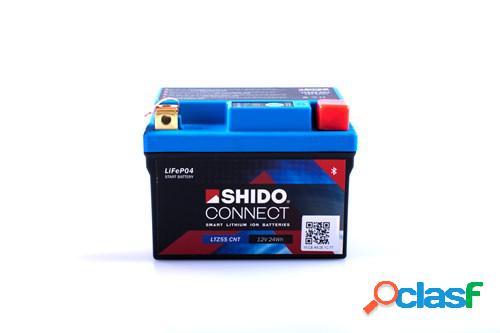 SHIDO Batterie Lithium-Ion Connect, moto & scooter, LTZ5S-CNT