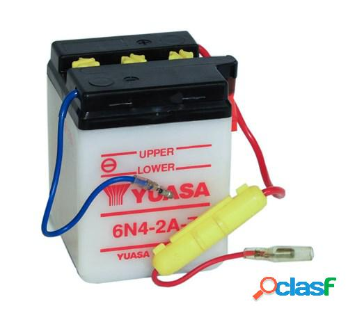 YUASA Batterie 6V conventionnelle, moto & scooter, 6N4-2A-7