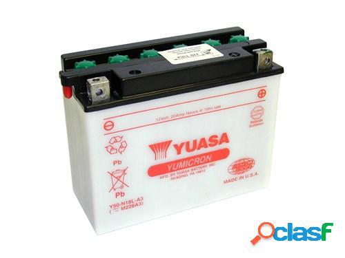 YUASA Batterie Yumicron, moto & scooter, Y50-N18L-A3