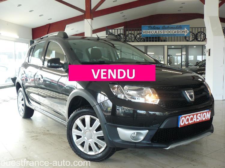 Dacia sandero stepway essence soliers 14 | 7995 euros 2014