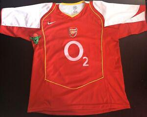Arsenal 2004/2005 maillot jersey shirt trikot maglia