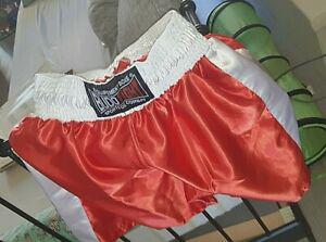 Budo fight equipement sports de combat short de boxe shiny
