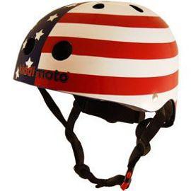 Casque trottinette - helmet usa flag small