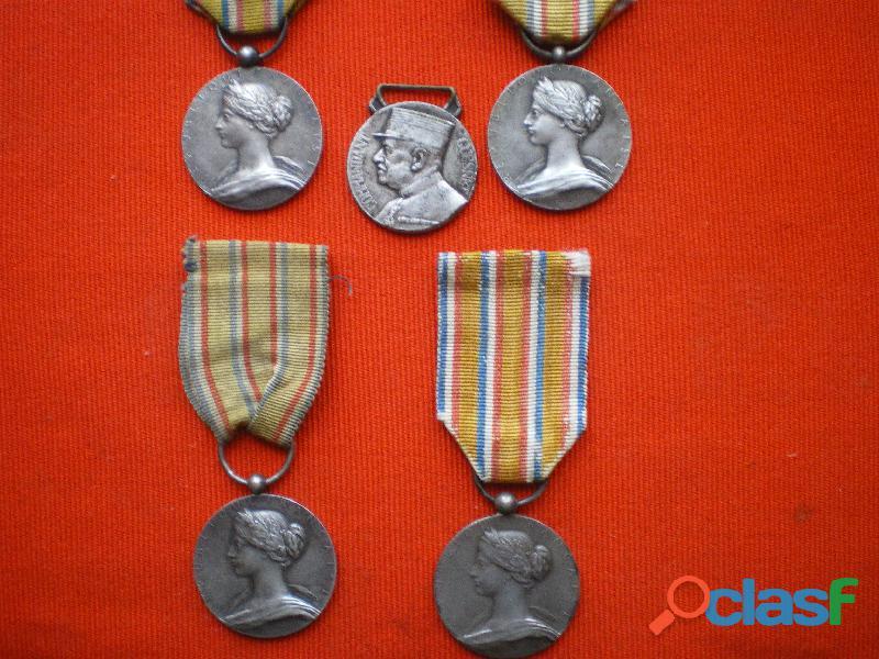 Médailles d'honneur des Sapeurs Pompiers 1900