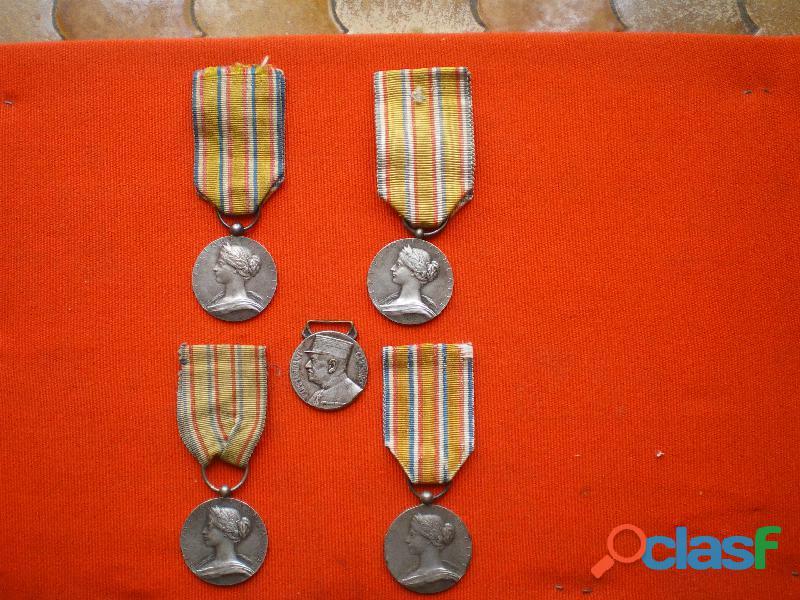 Médailles d'honneur des Sapeurs Pompiers 1900 2