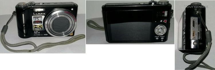 Appareil photo panasonic dmc tz7 + accessoires