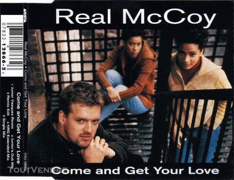 Come and get your love (us maxi cd)
