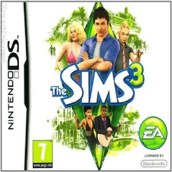 Die sims 3 [import allemand] [jeu ds]