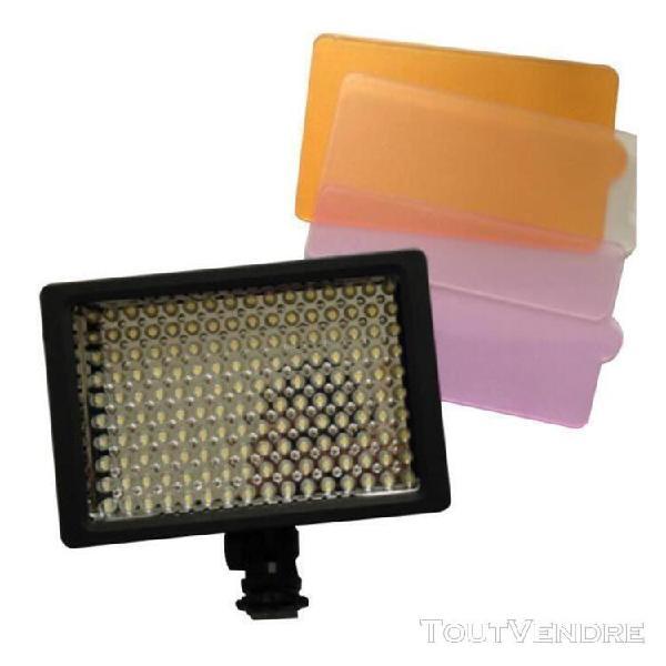 Lightdow pro ld-160 lunière de panneau led vidéo lampe 160