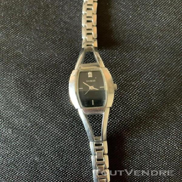 Montre femme guess stainless steel