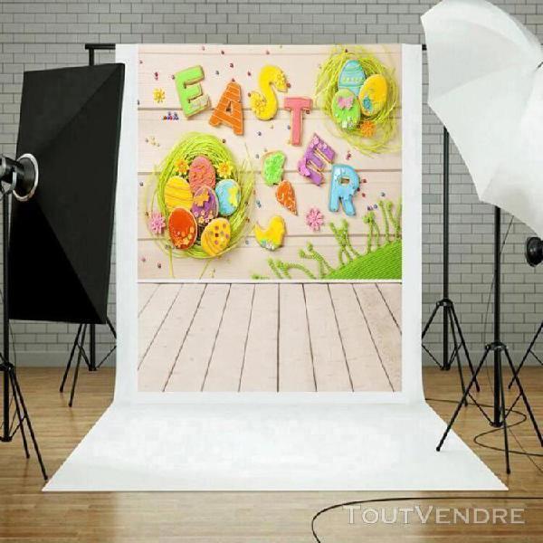 Photographie jour de pâques toile de fond vinyle photo fond