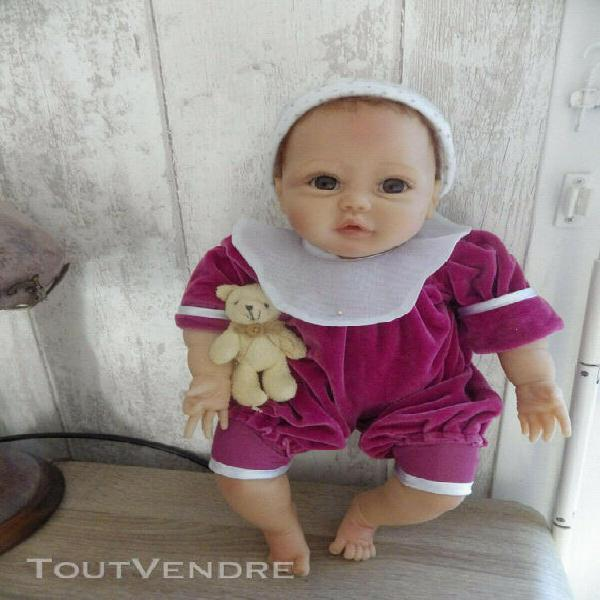Poupee d'artiste bebe realiste reborn de sherry miller pour