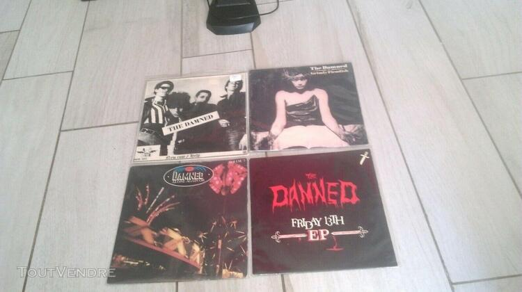 Punk / oi - lot ep - the damned