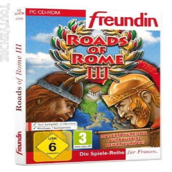 Roads of rome iii [import allemand] [jeu pc]