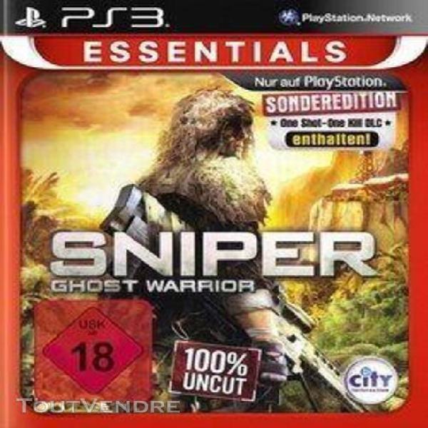 Sniper: ghost warrior [import allemand] [jeu ps3]