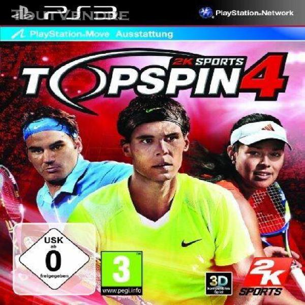 Top spin 4 [import allemand] [jeu ps3]