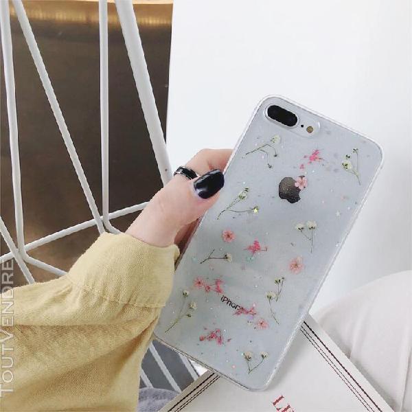 Transparent couvercle de téléphone flexible en