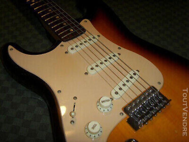 Vintage guitare électrique gaucher stratocaster fender