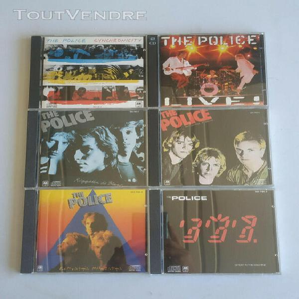 6 albums the police (cd)