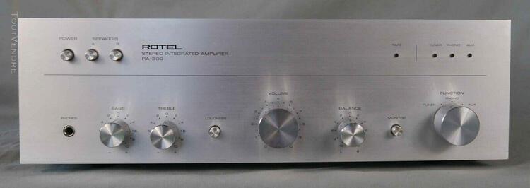 Amplificateur stéréophonique intégré vintage rotel