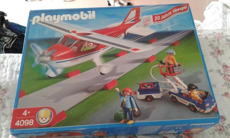 Avion playmobil ref 4098