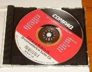 Cd compaq mobile pc neuf occasion, versailles (78000)