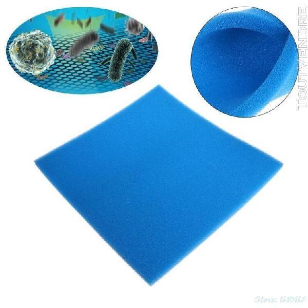 Filtre aquarium en coton biochimique éponge d'aquarium