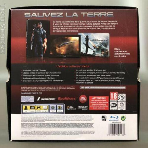 Jeux ps3 mass effect 3 edition collector