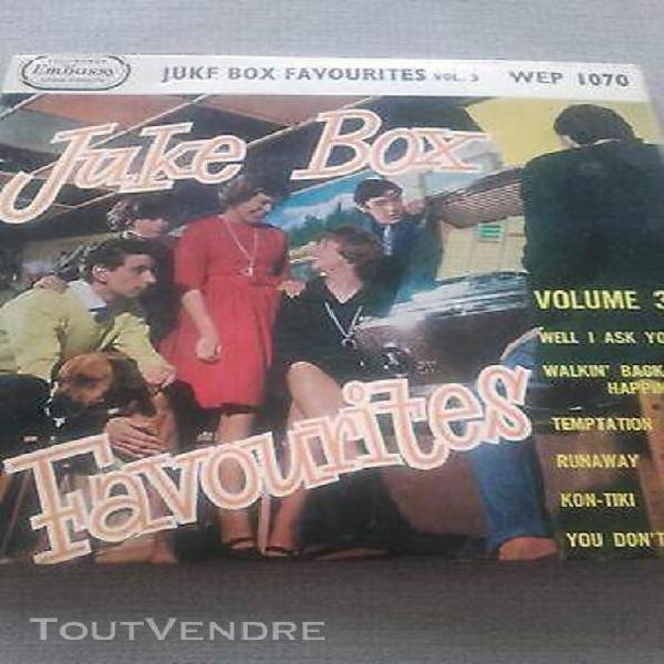 Juke box favourites vol 3 -45 tours- wep 1070