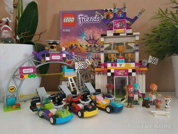 Lego friends 41352 la grande course complet