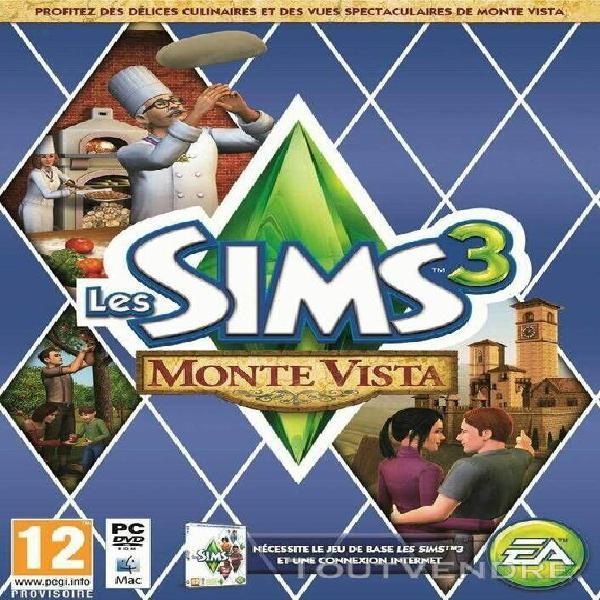 Les sims 3: monte vista - extension - jeu pc / mac - ea -
