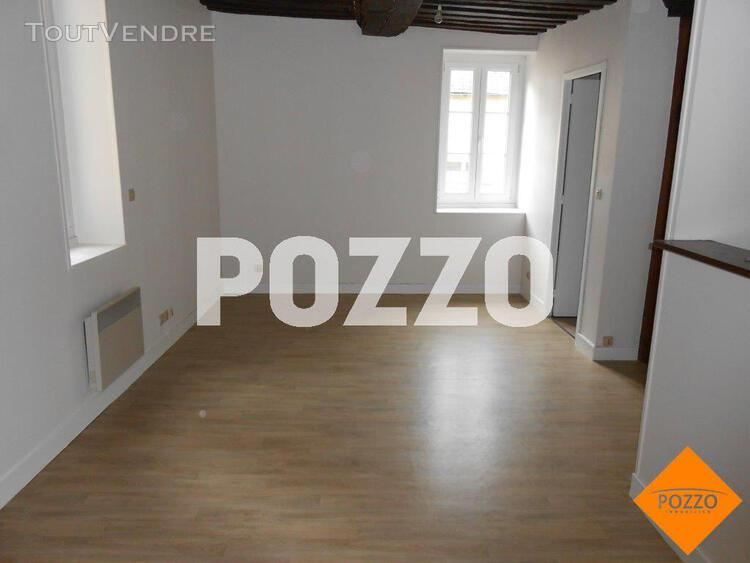 Location: appartement f1 (29 m² carrez) à caen