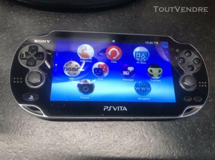 Ps vita+5 jeux