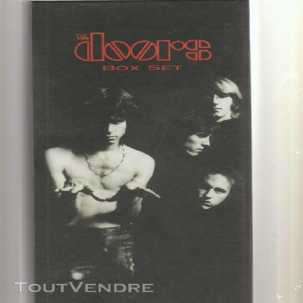 The les doors box set 4 cd coffret et livre