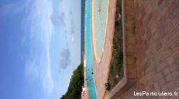 Studio dans résidence avec plage et piscine