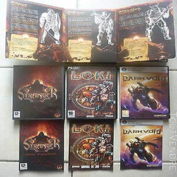 3 jeux pc: stranger collector + loki + dark void