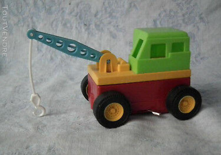 A child guidance toy# jouet vintage d'assemblage, voiture,
