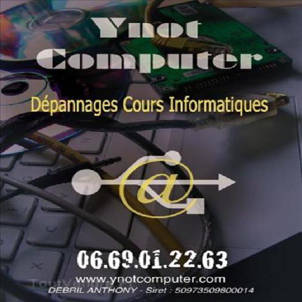 Dépannages et cours informatiques