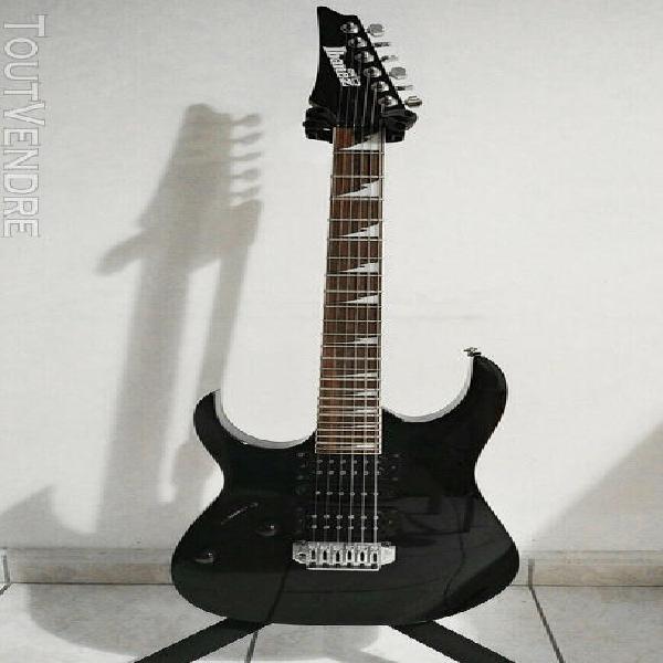 Guitare electrique pour gaucher ibanez grg170dxl noire remis