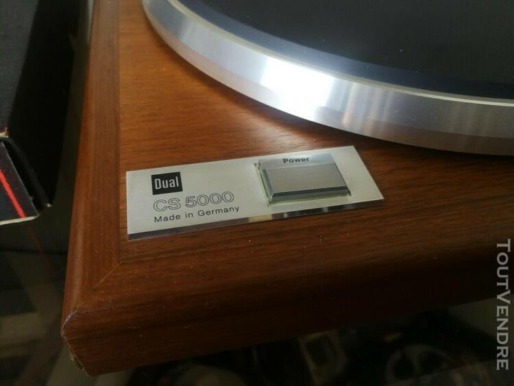 Magnifique platine vinyle dual cs 5000 grado xc+ made in ger