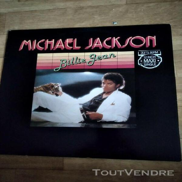 Michael jackson billie jean 12 inch.max single 33 1/3rpm