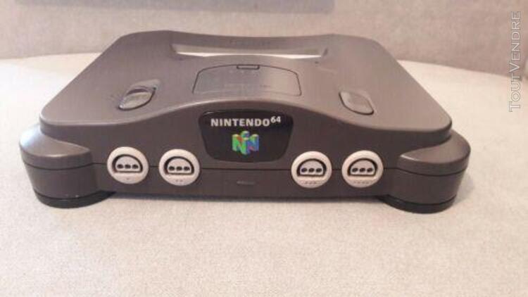 Nintendo 64 fra rgb - mod officiel cms composants montés en