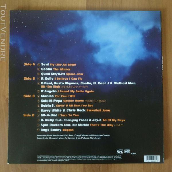 Space jam 2x vinyl/lp us 1996 gatefold