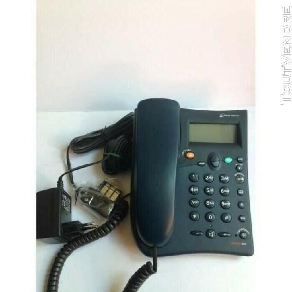 Téléphone fixe filaire répondeur amarys 1600