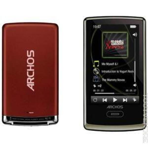 Archos 3 vision - lecteur mp3/mp4/transmetteur fm - 8 go - b