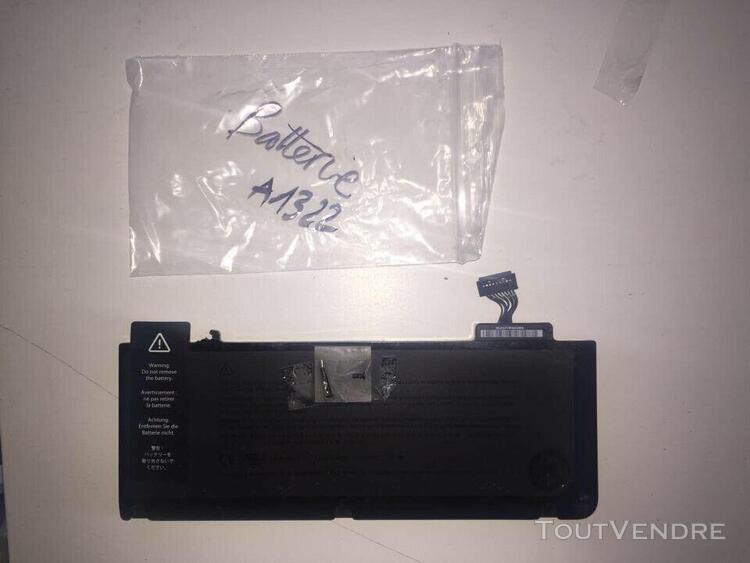 """Batterie pour macbook pro 13"""" a1322 10.95v 63.5wh"""