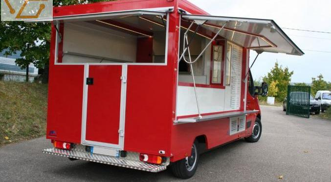 Camion pizza renault master 2.5dci 120