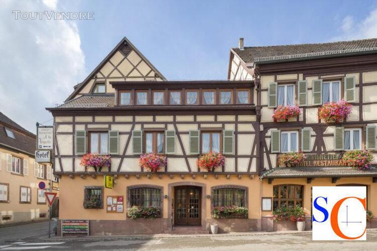 Hotel restaurant - murs et fond